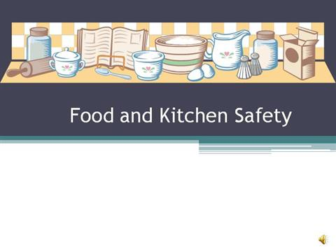 food safety powerpoint template - food and kitchen safety authorstream