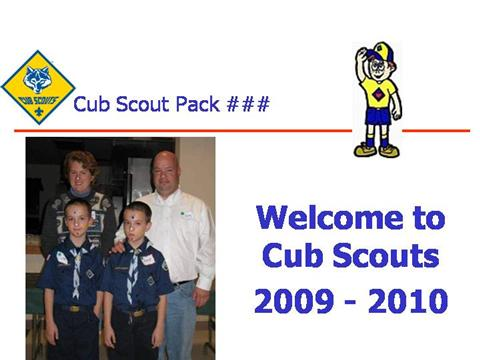 cub scout powerpoint template - welcome to our cub scout pack authorstream