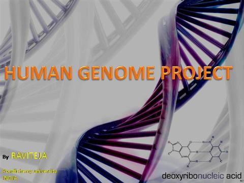 Beyond the human genome project future goals and projects based on.