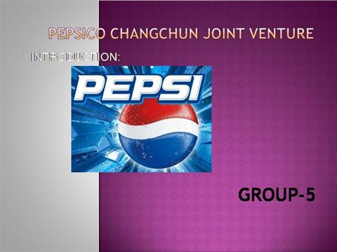 Pepsico Changchun Joint Venture: Capital Expenditure Analysis Case Study Analysis & Solution