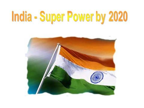 India the next superpower.