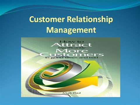 customer relationship management ed peelen powerpoint slides