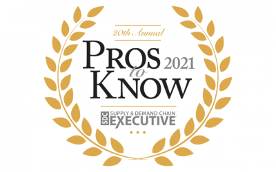 "Verusen Executive Leaders Named 2021 ""Pros to Know"" by Supply & Demand Chain Executive Magazine"