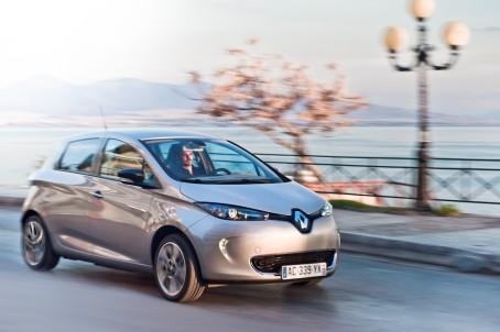 Den nye elbil Renault Zoe