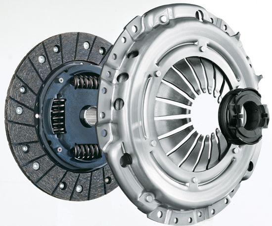 Koblingsskift og gearskift på bil