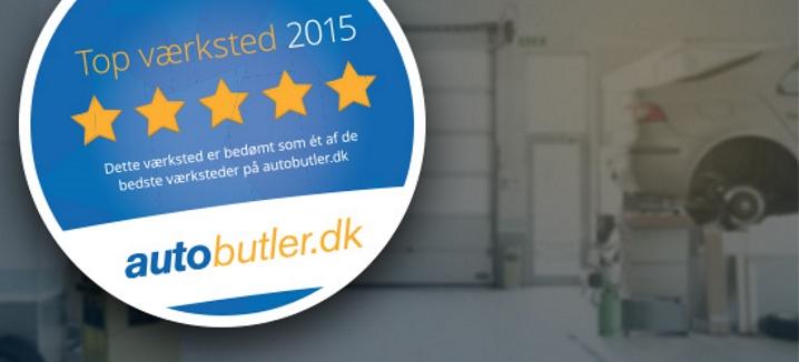 Danmarks bedste værksteder 2015