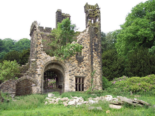 Outdated website design is like a crumbling castle