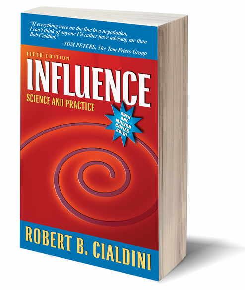 influence book by robert cialdini