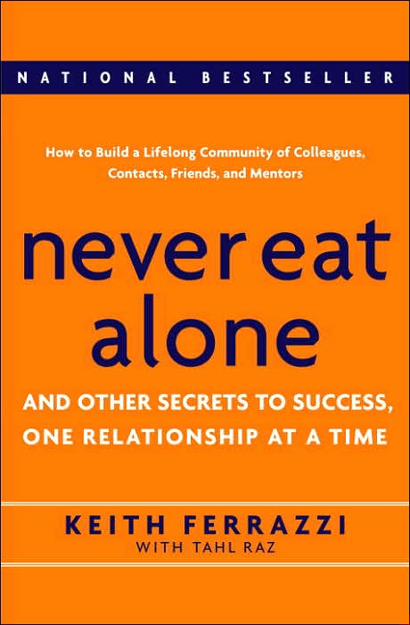 never eat alone book cover
