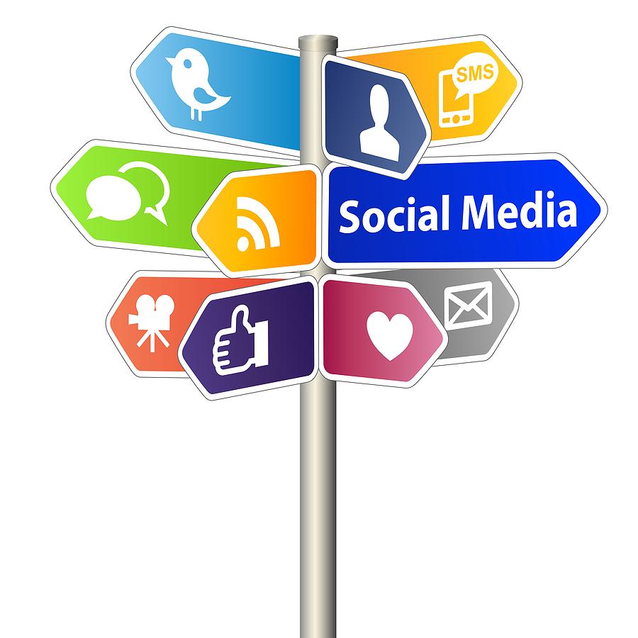 post regularly to social media