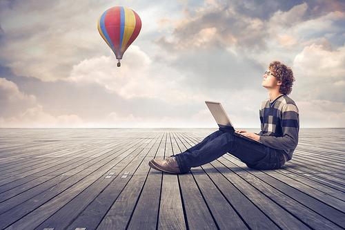 write down creative ideas