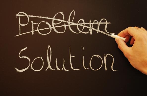 problem-solution-chalkboard
