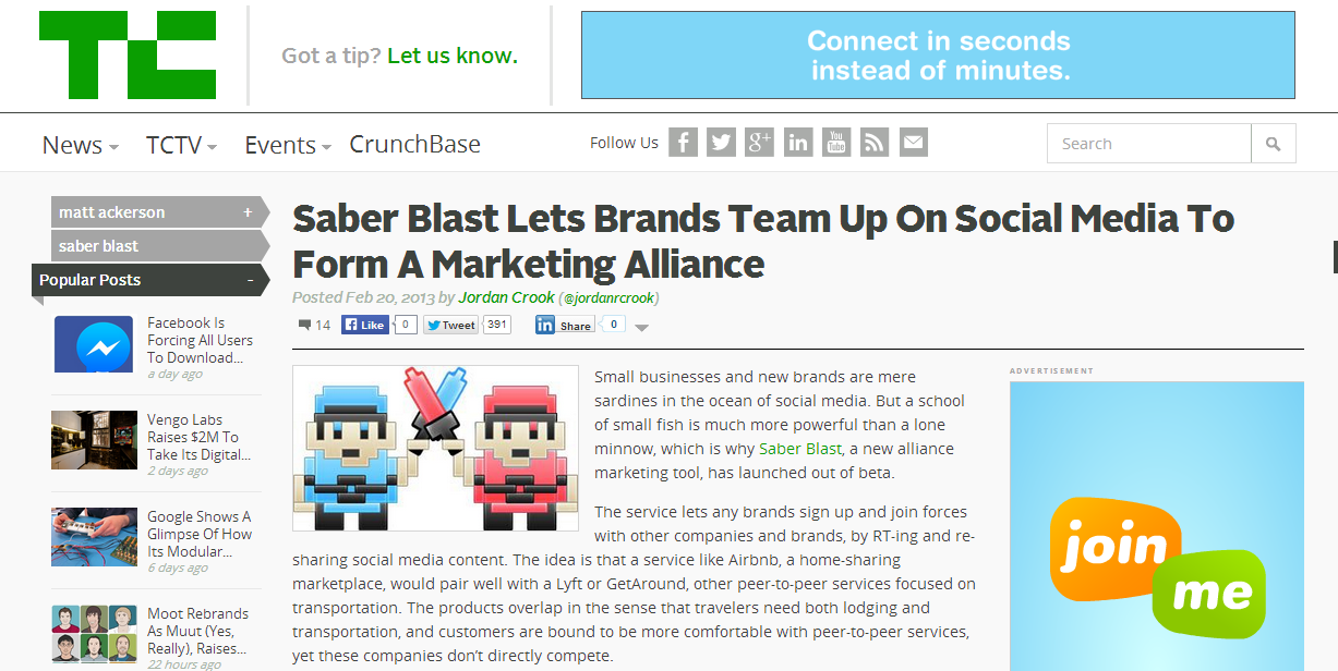 saberblast-on-techcrunch