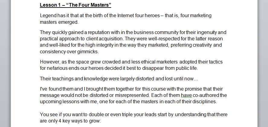 the-four-masters-draft