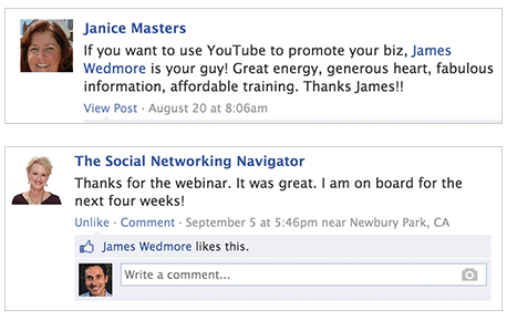 james-wedmore-facebook_testimonial-example