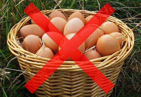 Don't put all your eggs in the same basket! (Facebook)