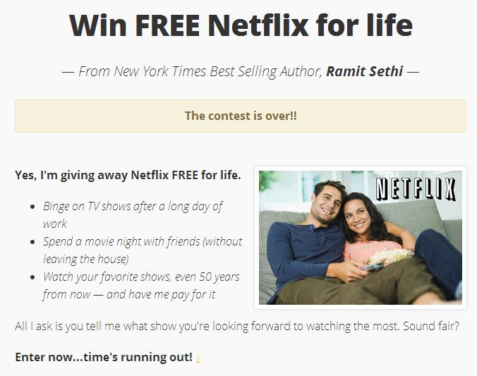 ramit-sethi-netflix-contest