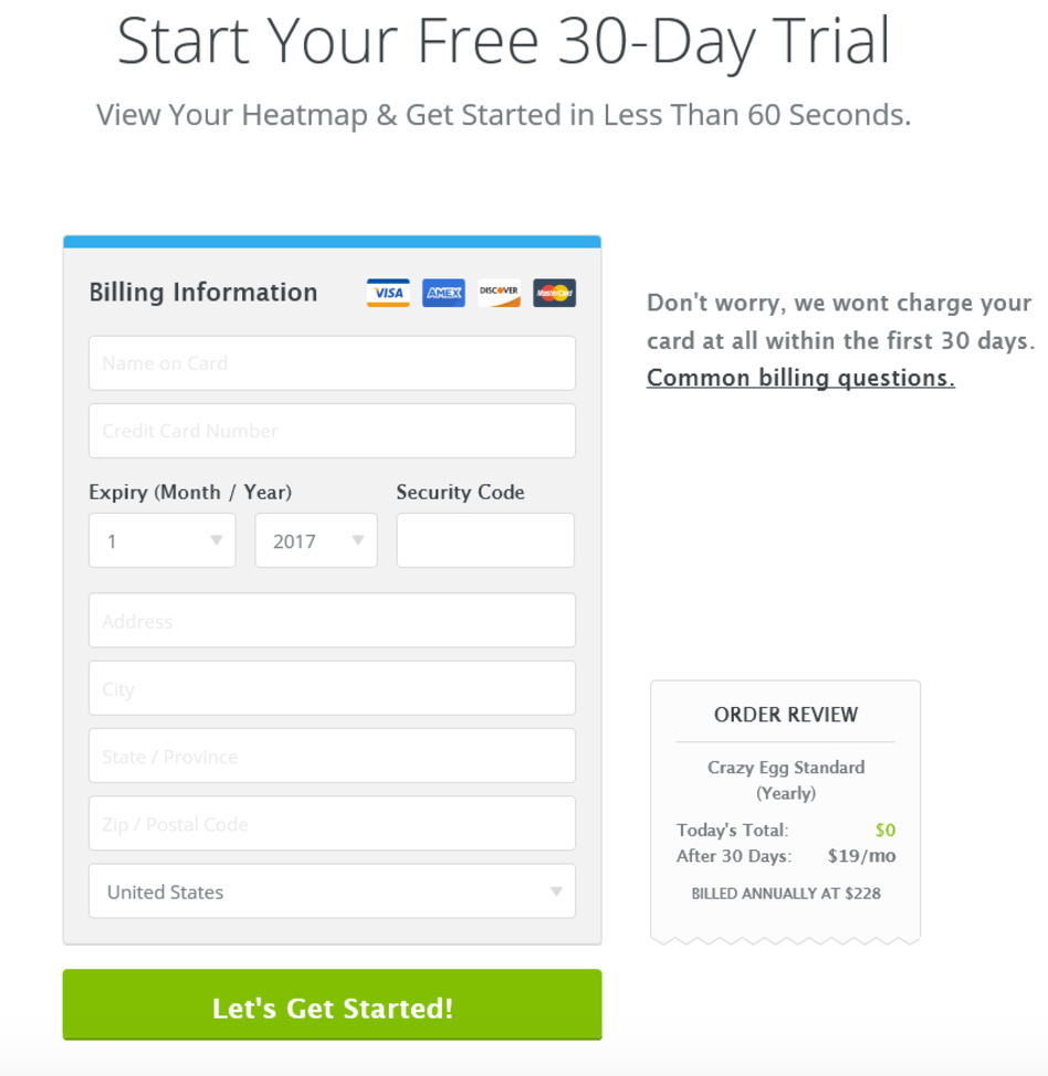17 successful sales funnel examples to amp your growth in 2019the pricing page has a similar aesthetic to the rest of the site it\u0027s very simple and has been like this for over a year now crazy egg offers free trials