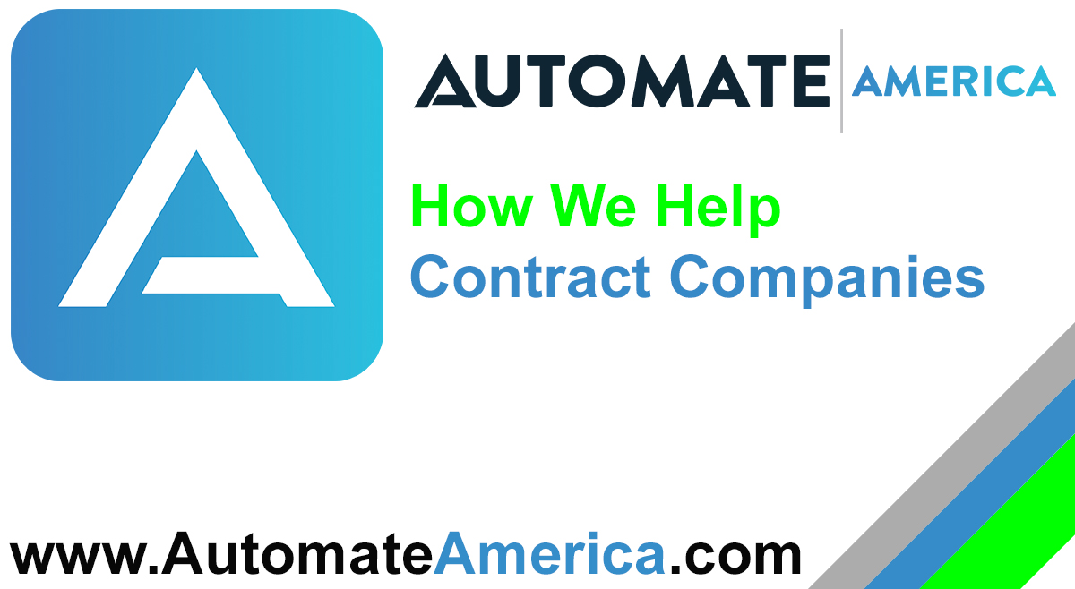 How We Help Contract Companies