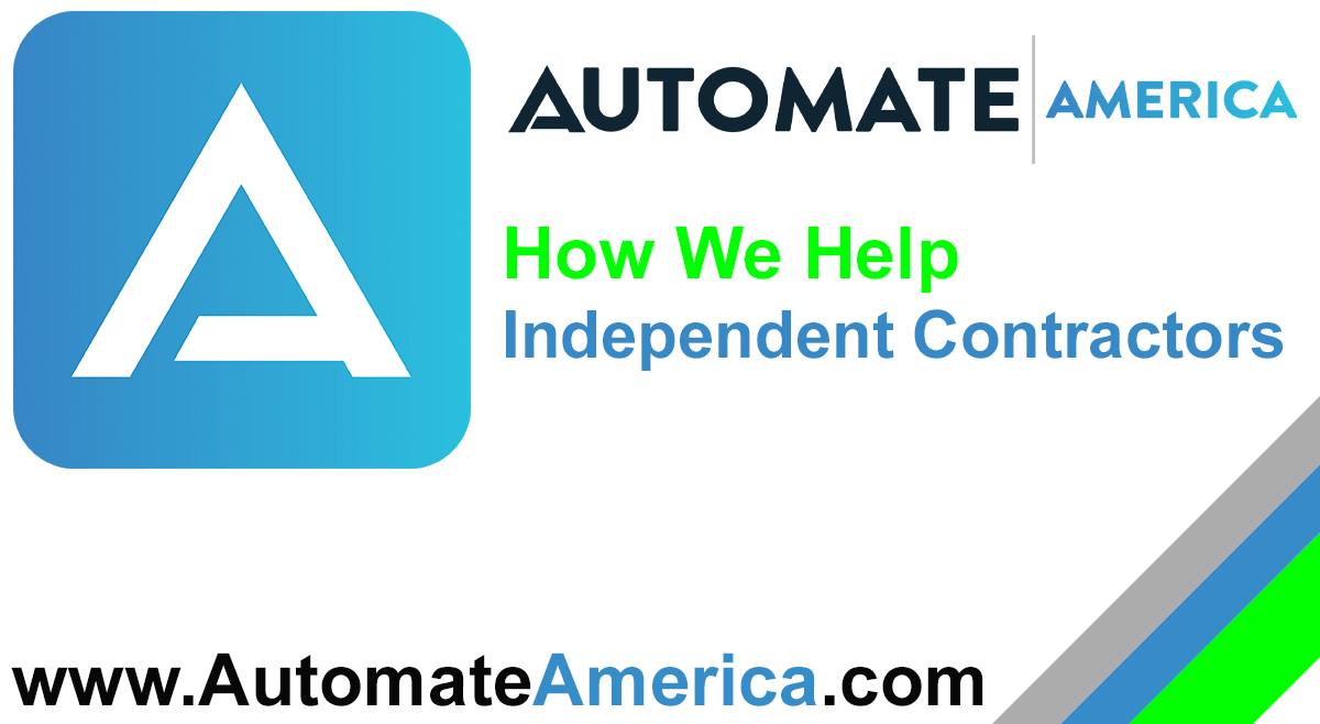 How We Help Independent Contractors