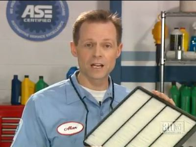 Cabin Air Filter From Hines Service Center