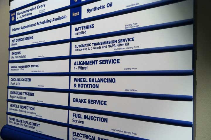 Auto Repair Specialists Helps You Decipher the Menu Board: Part 2
