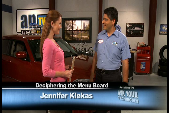Deciphering the Wrench Auto Service Inc Menu Board