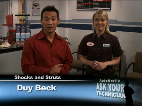 Check Your Shocks and Struts at Tune In And Tune Up!