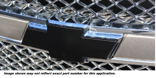 Black 96127KP Front//Rear All Sales Combo Grille Emblem