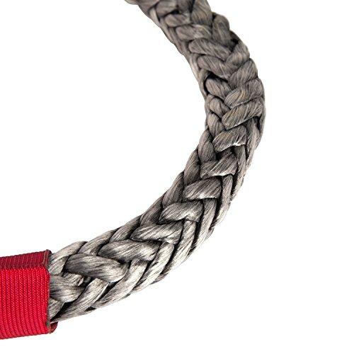 7//16-Inch, 7500 LBS WLL Rugged Ridge 11235.50 Soft Rope Shackle