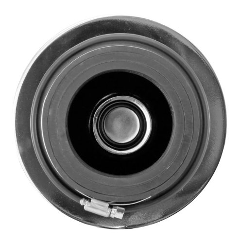 102 mm//89 mm//76 mm 152 mm Flange ID; 8.75 in Spectre Performance 9738 Universal Clamp-On Air Filter: Round Tapered; 3 in//3.5 in//4 in Top Height; 6 in Base; 4.75 in 121 mm 222 mm