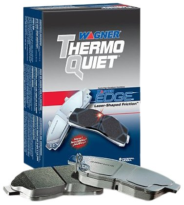 Disc Brake Pad Set-ThermoQuiet Disc Brake Pad Rear Wagner PD865