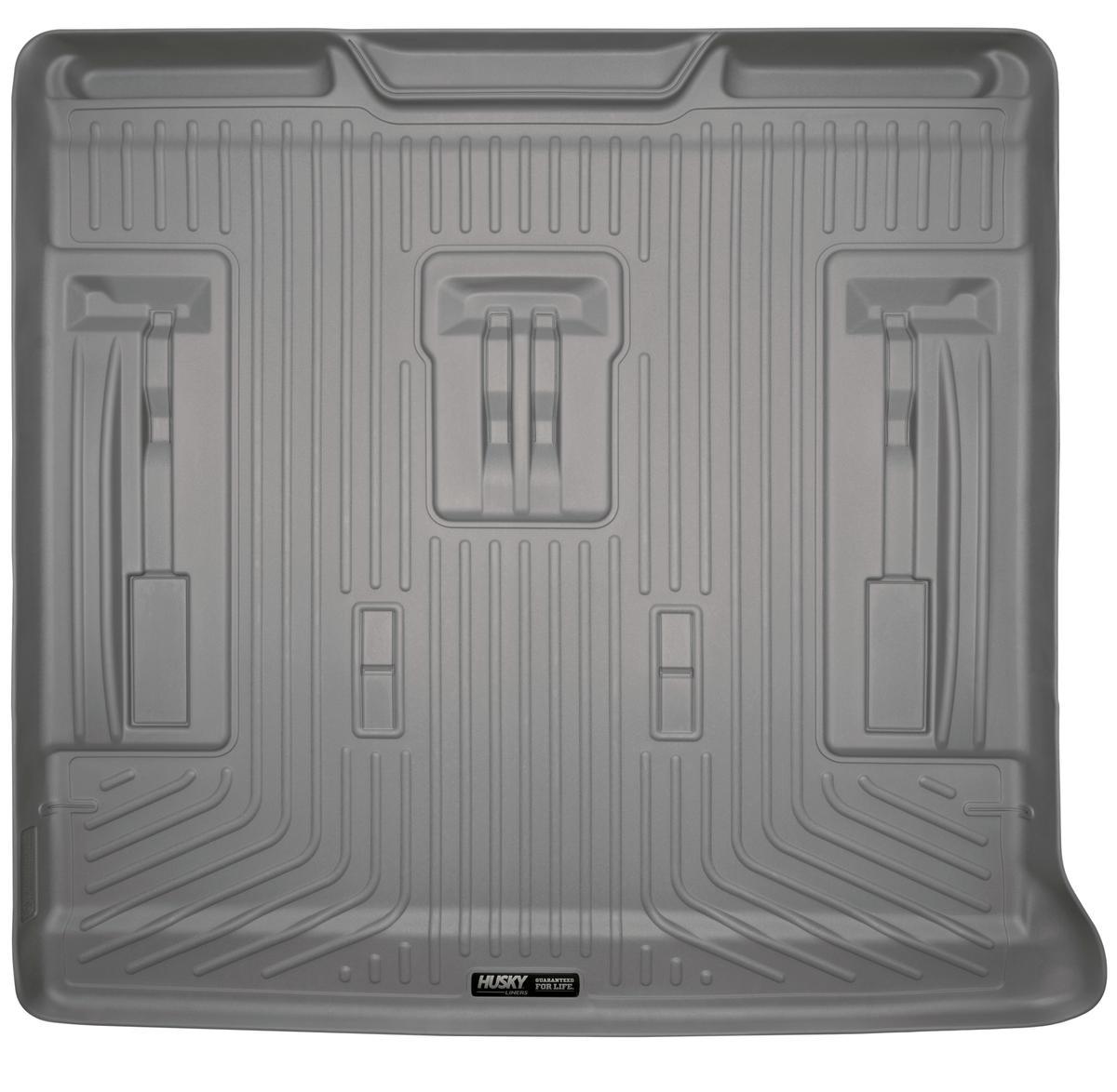 Cadillac Escalade 3rd Row Seats: Husky Liners Cargo Liner Fits 07-14 Escalade/Tahoe/Yukon W/ 3rd Row Seat