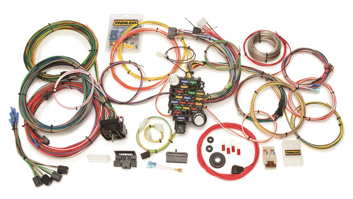 autopartsway.ca canada chassis wire harness in canada universal painless wiring harness #3