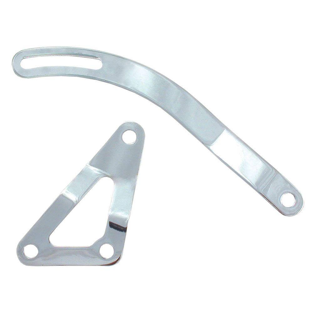 SPECTRE 42283 Alternator Bracket Triple Chrome Plated Steel W//BOLTS SBC PRE 1969