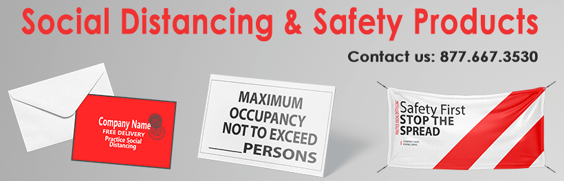 Social Distancing & Safety Products