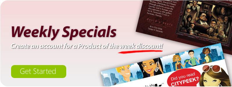 Weekly Specials!