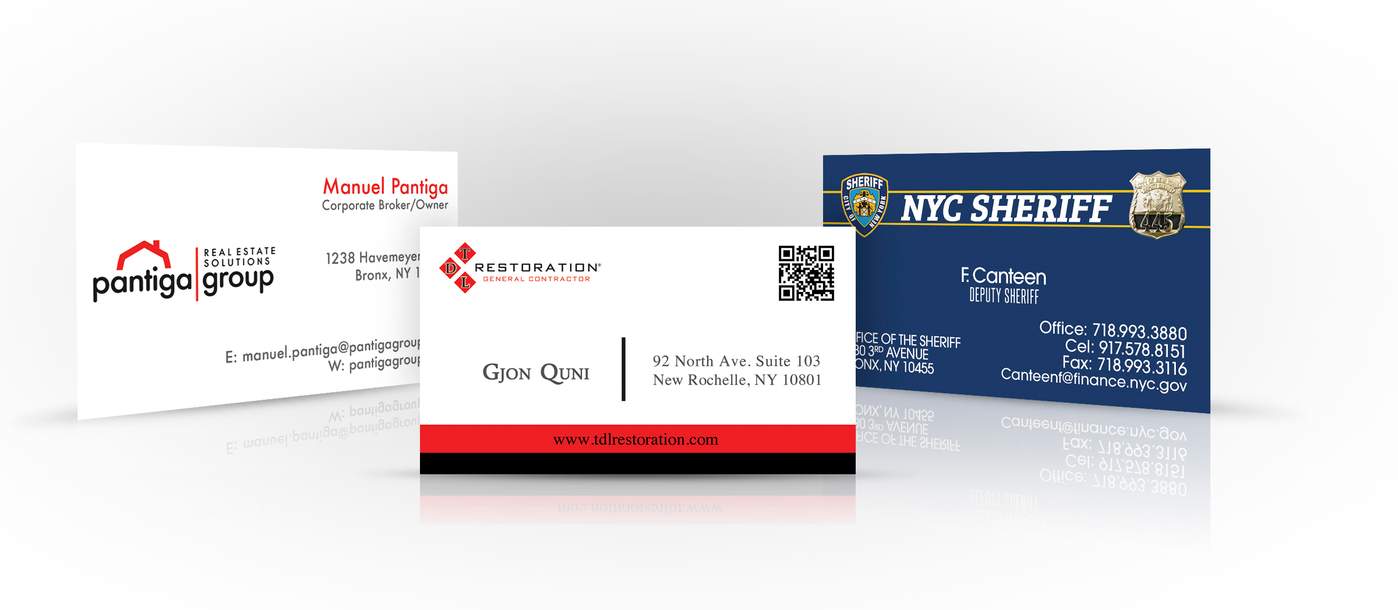 Quickprinter inc standard business cards reheart Gallery