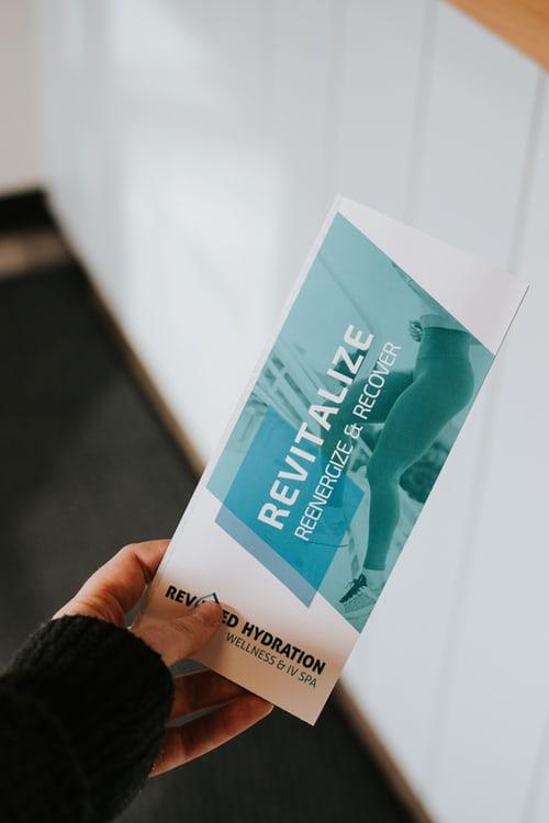 Image of a Custom Printed Brochure
