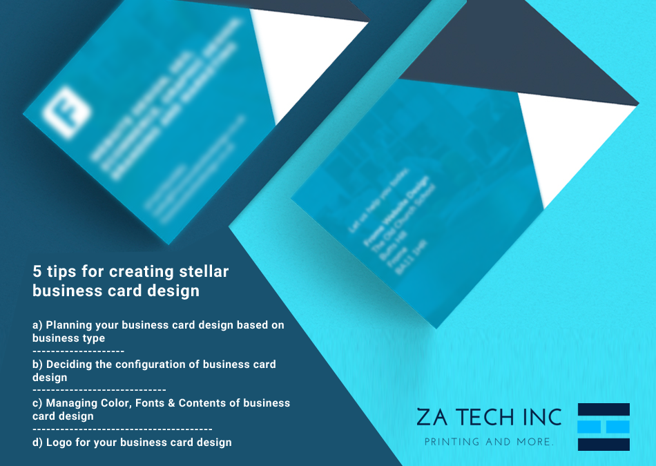 Business cards tips