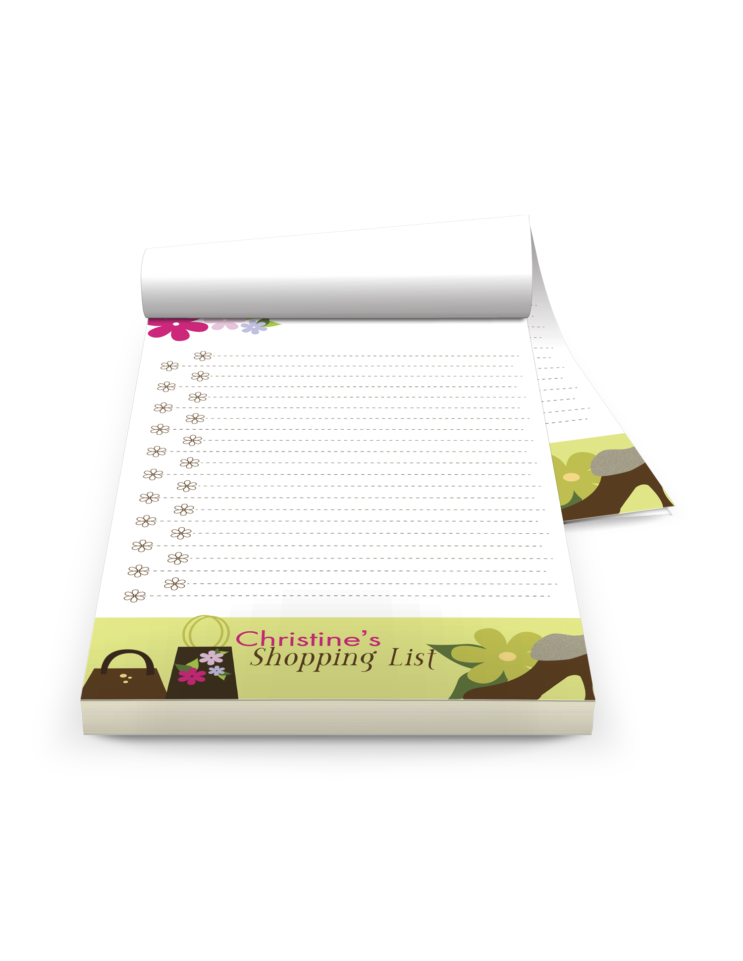 personalized notepads with logo ZAtechinc.com