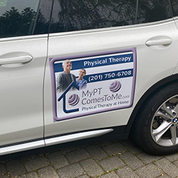 Physical Therapy Car Magnets - Product Sample Image