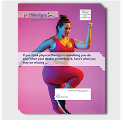 Every Door Direc Mail (EDDM) Physical Therapy postcard mailers - Product Sample Image