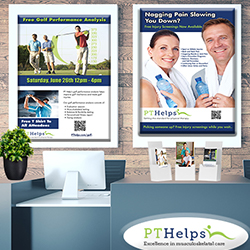 Physical Therapy Posters - Product Sample Image