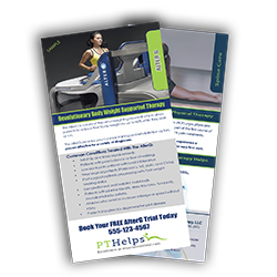 Physical Therapy Rack Cards - Product Sample Image