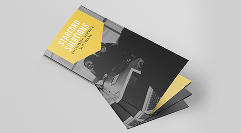 Example Flyers and Brochures for Starford Solutions