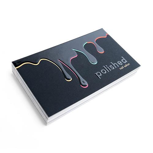 Raised Spot UV Cards