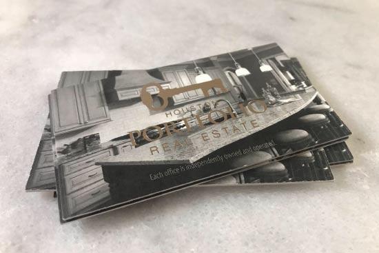 Hot Foil Business Cards