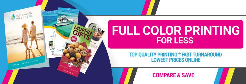 Full Color Printing for Less