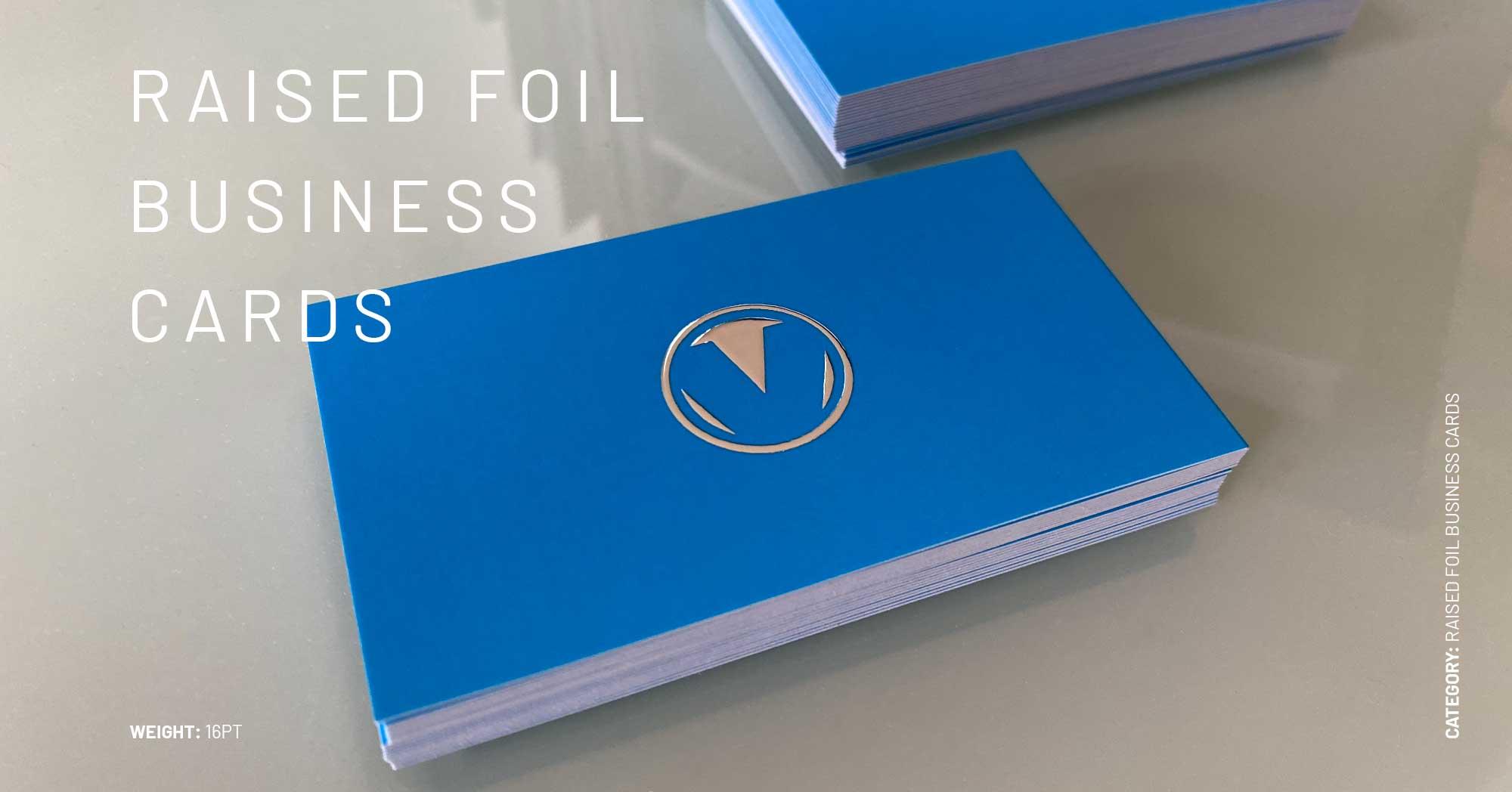 Raised Foil Cards